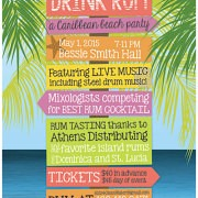 Save Water - Drink Rum Caribbean Party